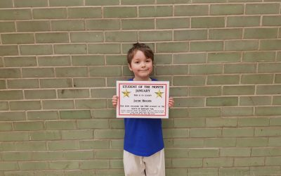 January Student Of The Month