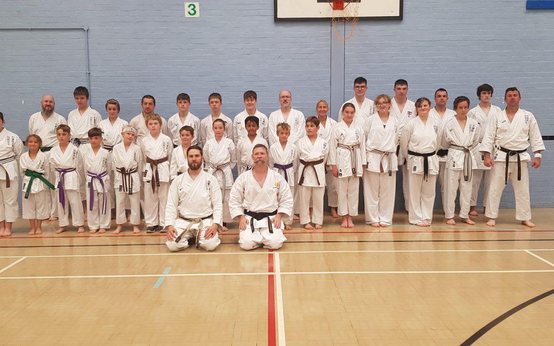 September Course Success with Sensei Matt Price
